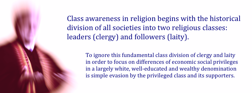 class awareness in religion begins with